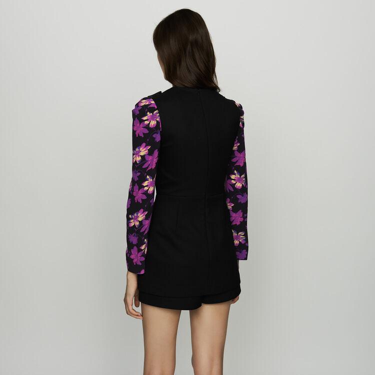 Monoshort sin mangas : Faldas y shorts color Negro