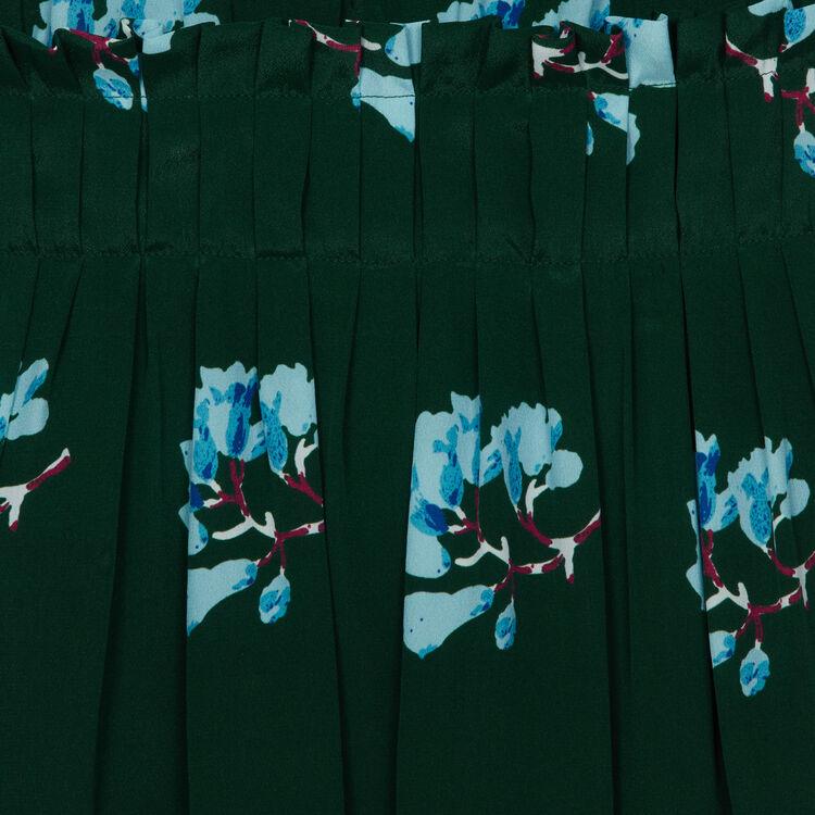 Vestido corto estampado floral : Monos color IMPRIME