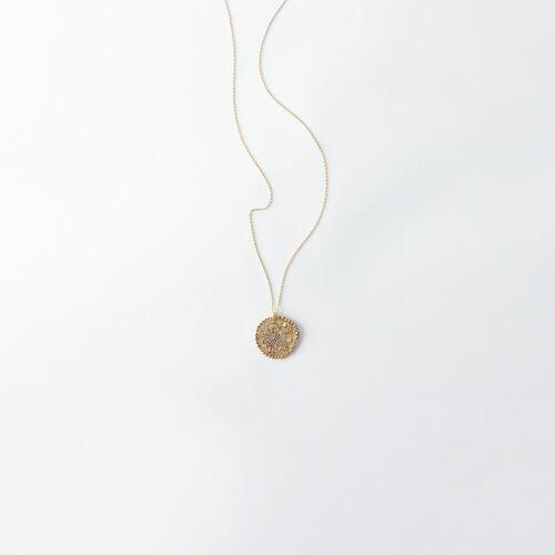 Collar de signo del Zodíaco Tauro : Todos los accesorios color Latón Envejecido