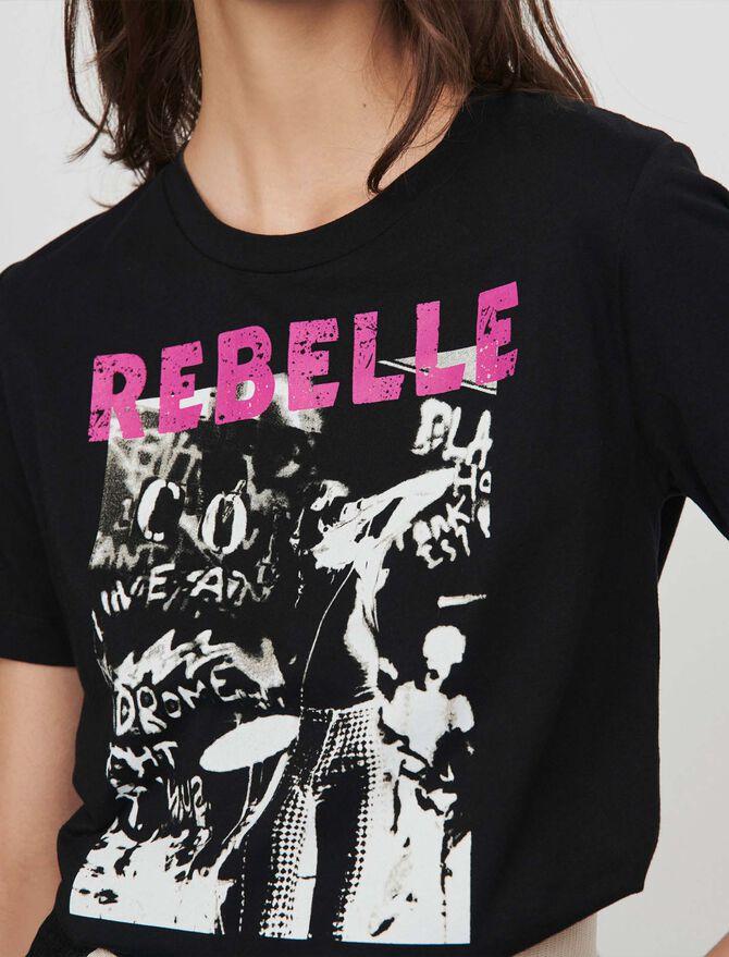 Camiseta decorada - -50% - MAJE