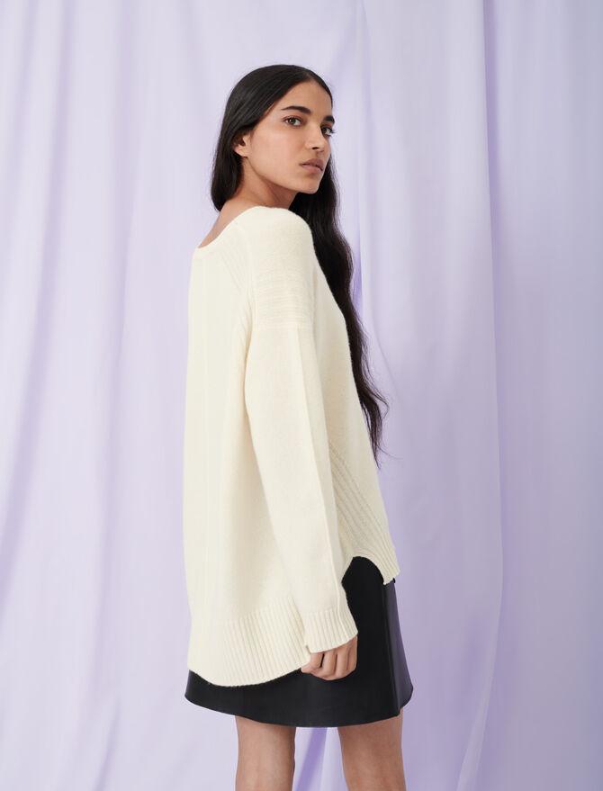 Jersey de cachemira de cuello redondo - Toda la colección - MAJE
