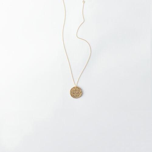 Collar de signo del Zodíaco Libra : Todos los accesorios color Latón Envejecido