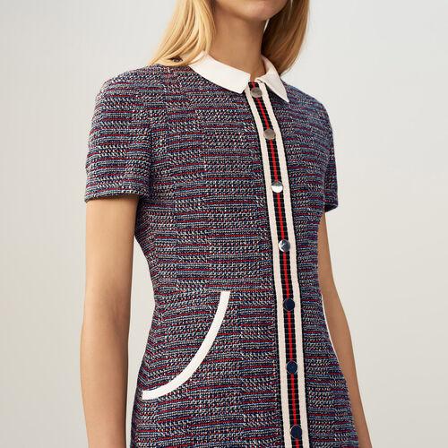 Vestido de cheviot - Pre-colección - MAJE