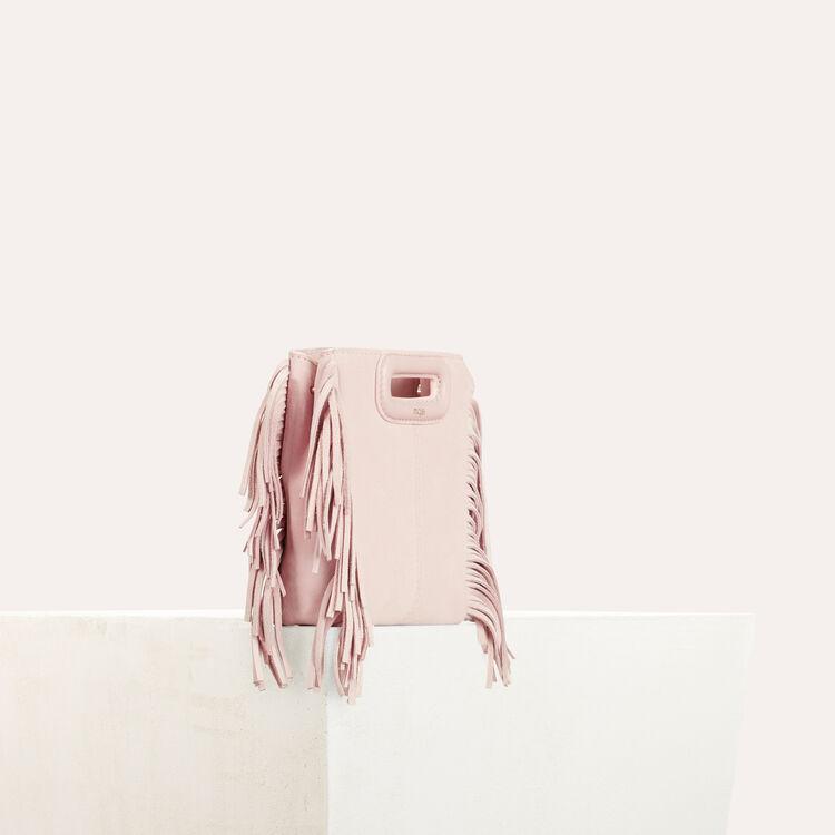 Mini bolso M de cuero de cordero : Bolsos M color Nude