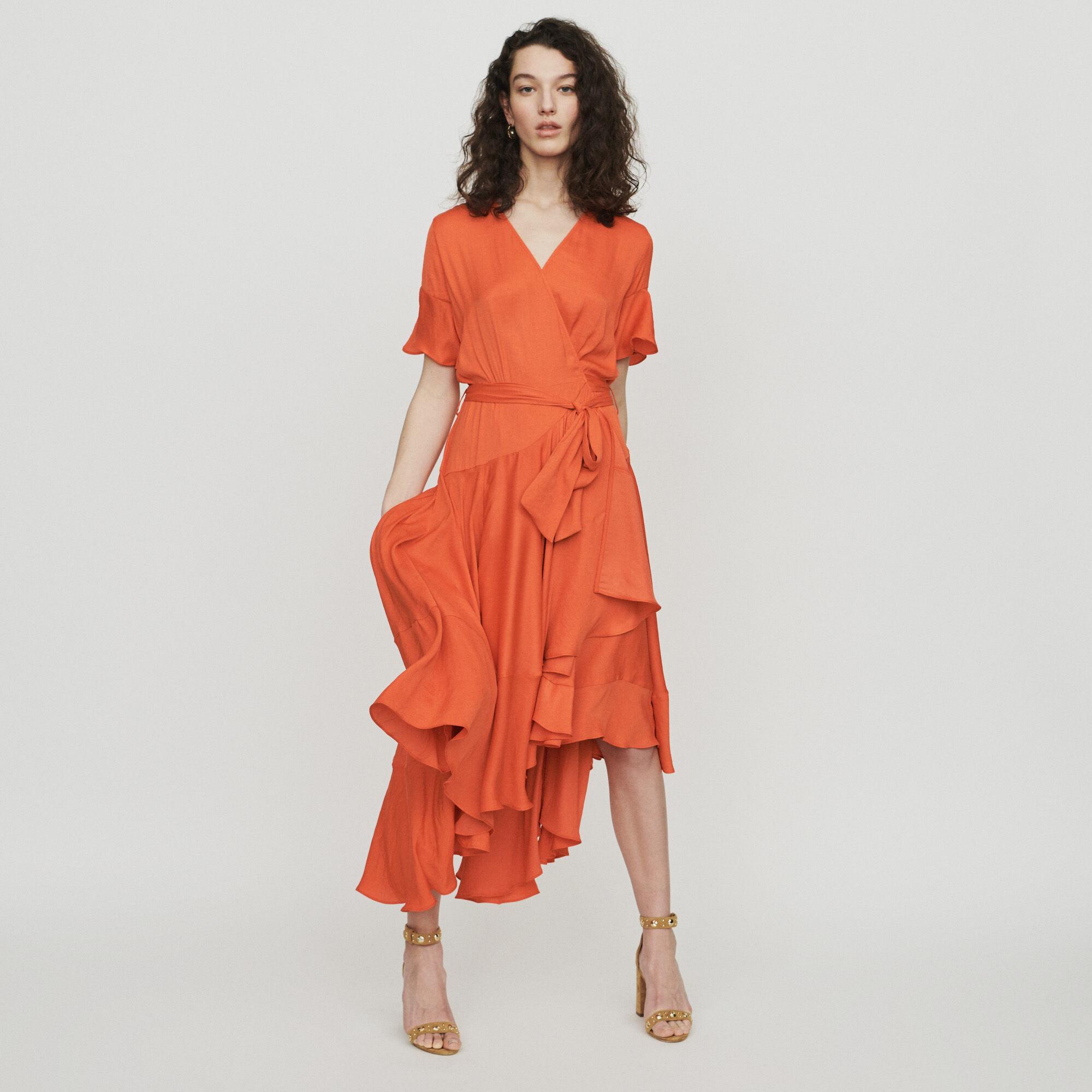 Vestidos largos escotados de moda
