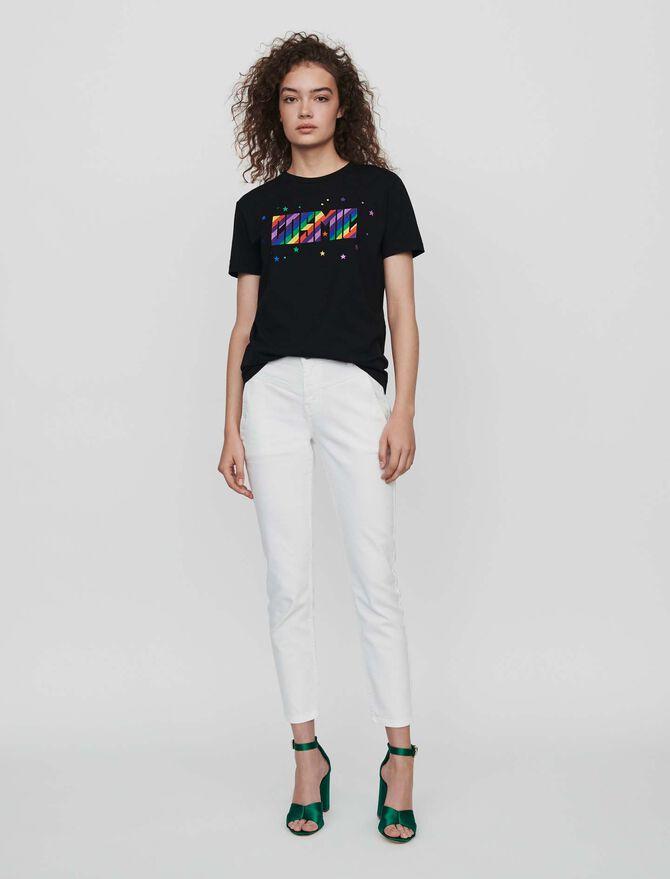 Camiseta bordada -  - MAJE