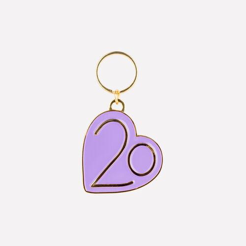 Llavero X 20 años : Gadgets color Violeta