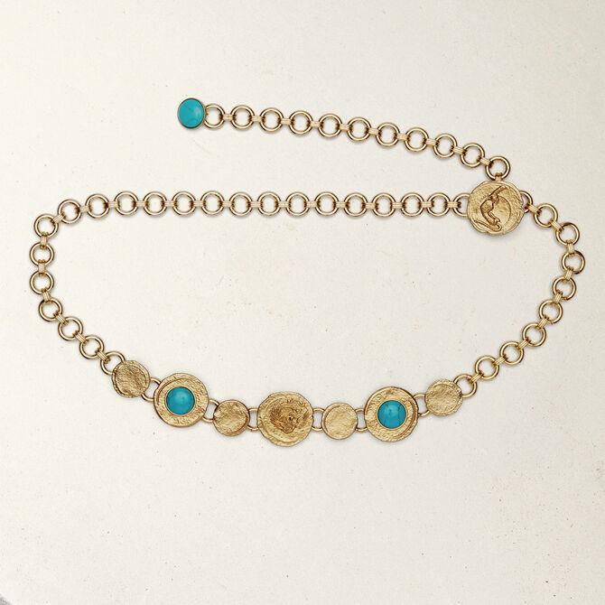 Cinturón cadena con medallas - Bolsos y accesorios - MAJE