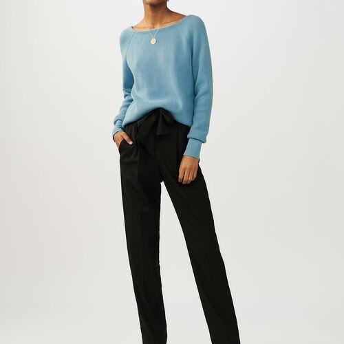 Jersey escotado en la esplada : Malla color Azul Celeste