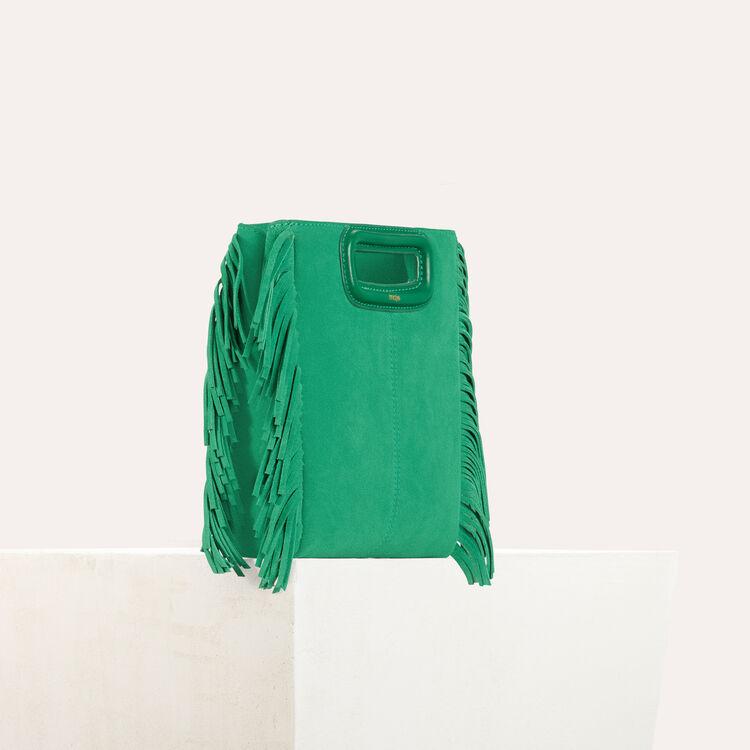Bolso M de ante : Bolsos M color Esmeralda