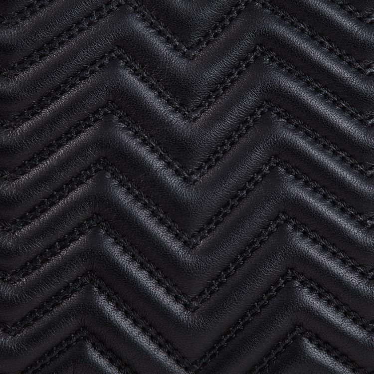 Bolso M de piel acolchada : Ver todo color Negro