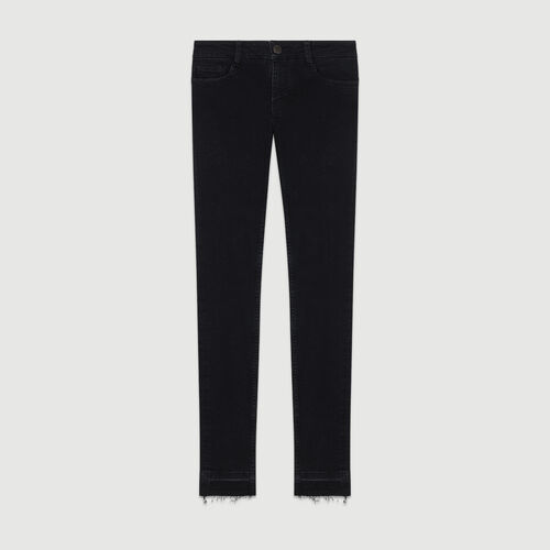 Jean slim : Jeans color Antracita
