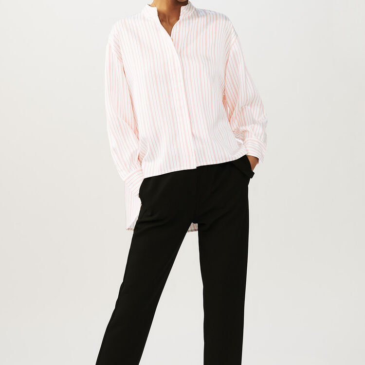 Camisa overzise de rayas : staff private sale color Rayas