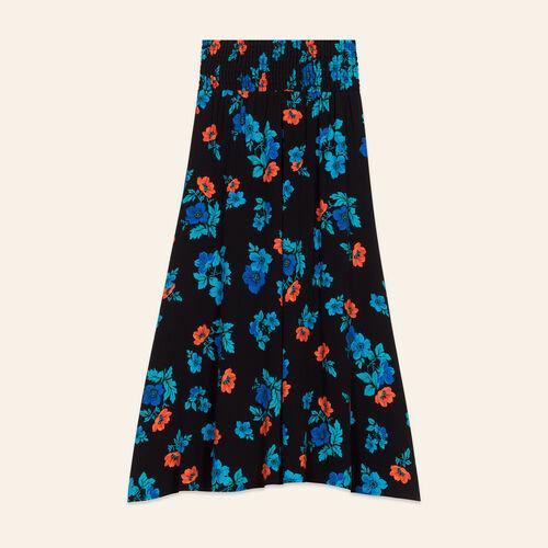 Faldas con bordados florales : Faldas y shorts color IMPRIME
