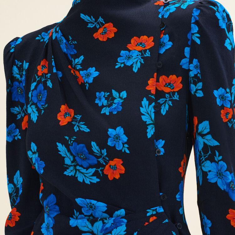 Bedrucktes Wickelkleid : Vestidos color Estampado
