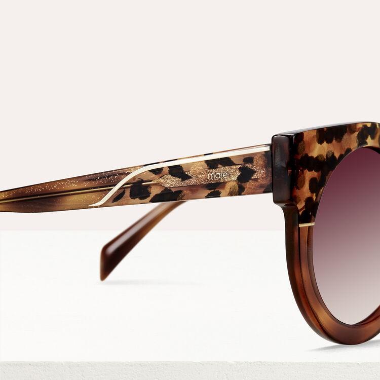 Gafas de sol cat eye : Gafas color ECAILLE