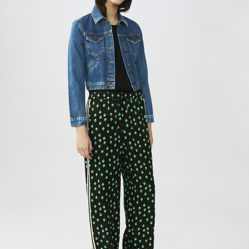 Printed  trousers : Pantalones color IMPRIME