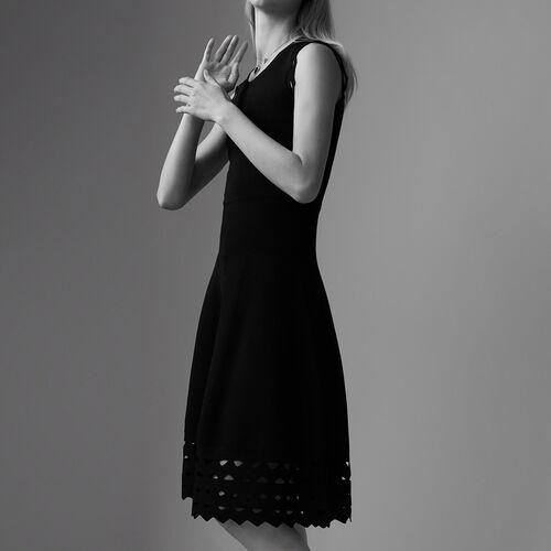 Vestido de punto calado - Pre-colección - MAJE