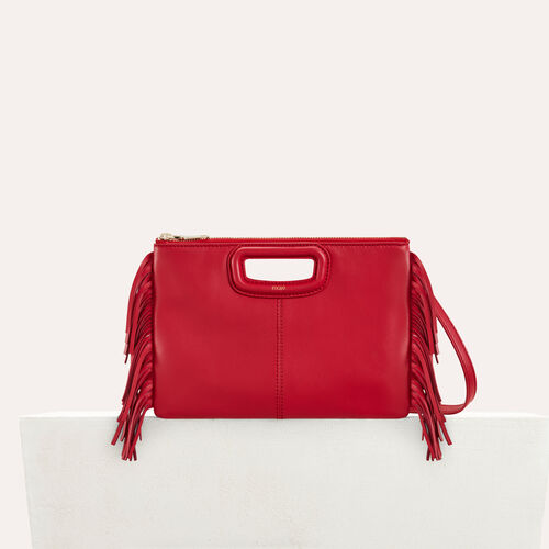 Cartera M Duo en cuero : M Duo color Rojo