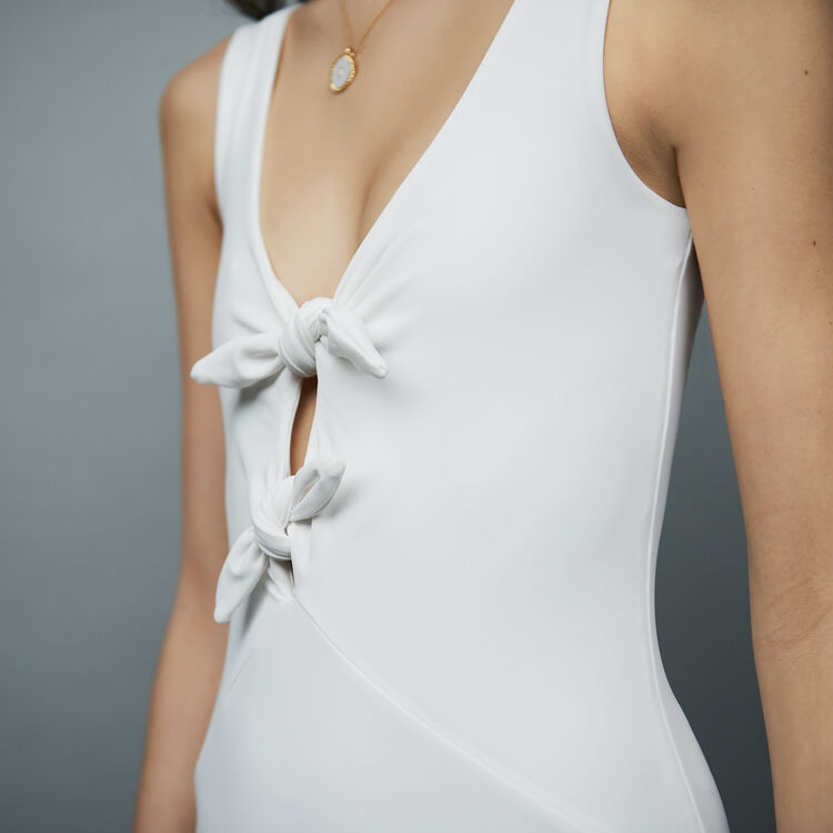 Body with knots : T-Shirts color Blanco