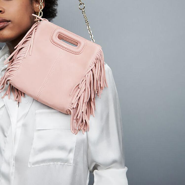 Mini bolso M de cuero de cordero : Bolsos color