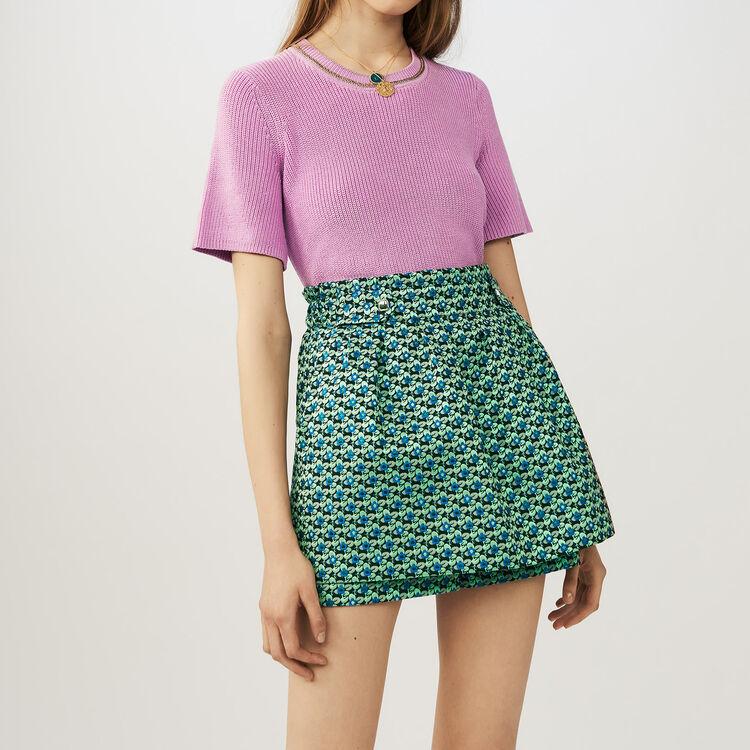 Short-falda en Jacquard : Faldas y shorts color Jacquard