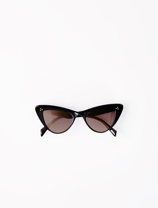 Gafas de sol mariposa de acetato -  - MAJE