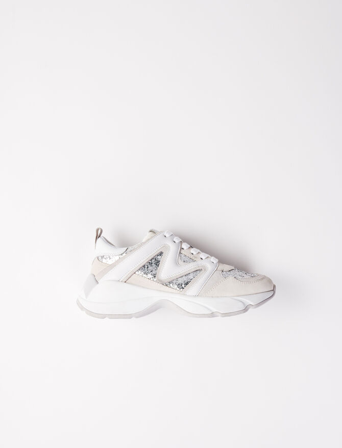 Zapatillas W22 lentejuelas - Sneakers - MAJE