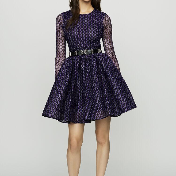 Vestido patinadora : Vestidos color Violeta