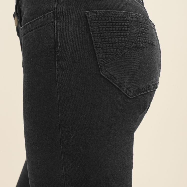 Sudadera de algodón con estampado : Jeans color Antracita