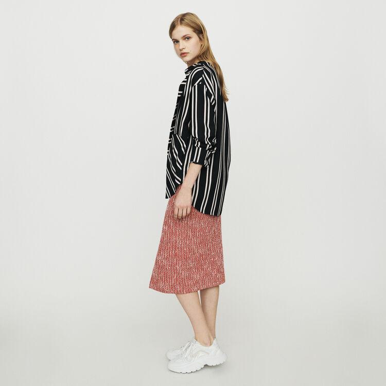"""Blusa con rayas """"trompe l'oeil"""" : Tops y Camisas color Rayas"""