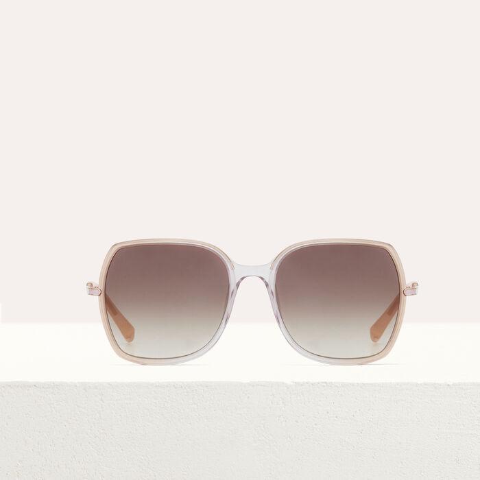 Lunettes de soleil en acétate et métal : Gafas color Rosa