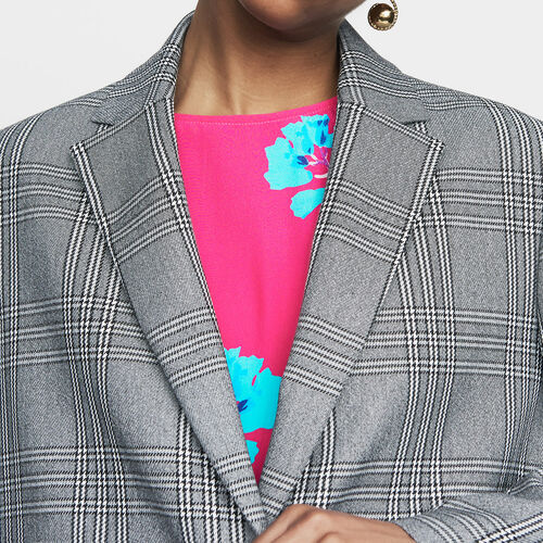 Chaqueta sastre : Office girl color CARREAUX