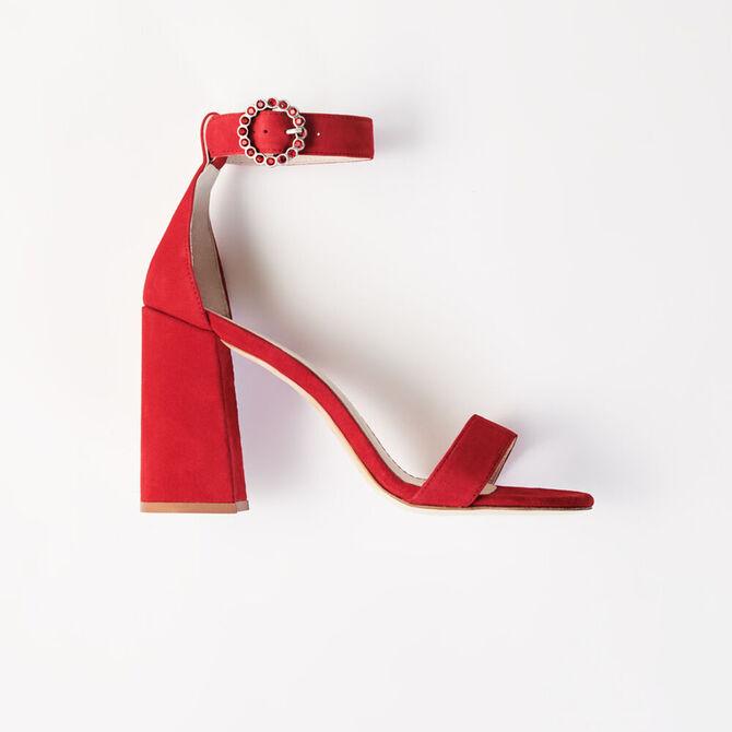 Sandalias de tacón alto con pulsera -  - MAJE
