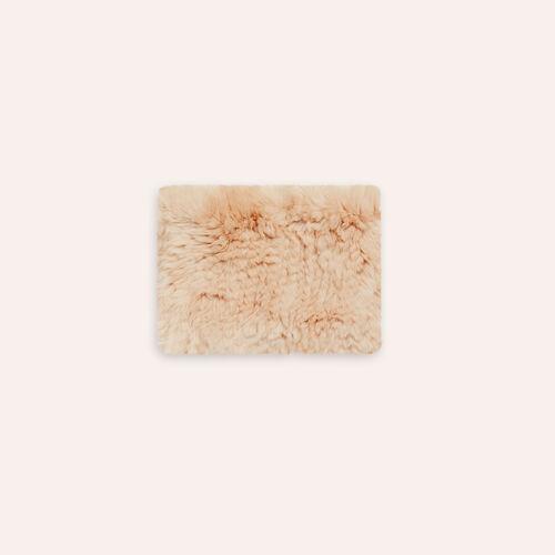 Bufanda tubular de piel de conejo - Pañuelos y Bufandas - MAJE