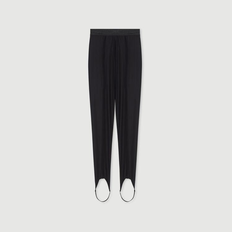 Pantalón pitillo Stretch : Colección invierno color Negro