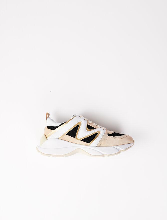 Zapatillas W22 multitejido - Sneakers - MAJE