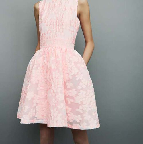 Dress with pink details : Vestidos color Rosa