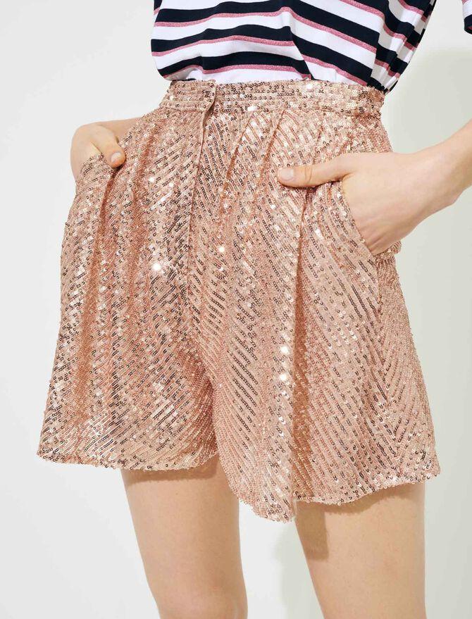 Short de lentejuelas - Faldas y shorts - MAJE