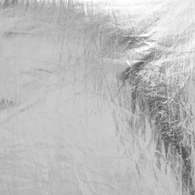 Riñonera de tela plateada con flecos : Otras M color Plateado