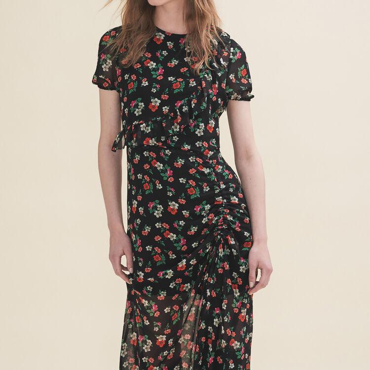 Vestido largo estampado : Vestidos color Estampado