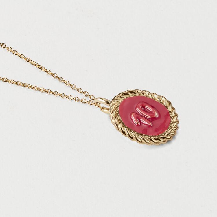 Medallón número 10 : Bisuteria color OR