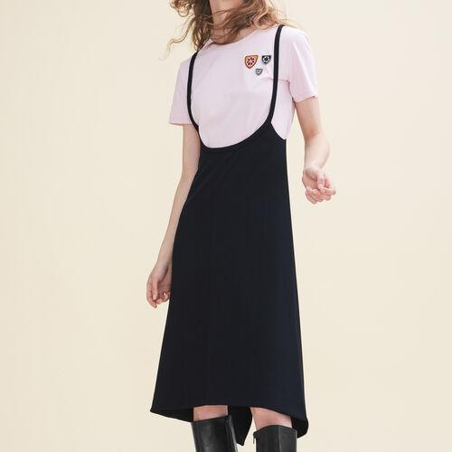 Vestido corto con tirantes - Vestidos - MAJE
