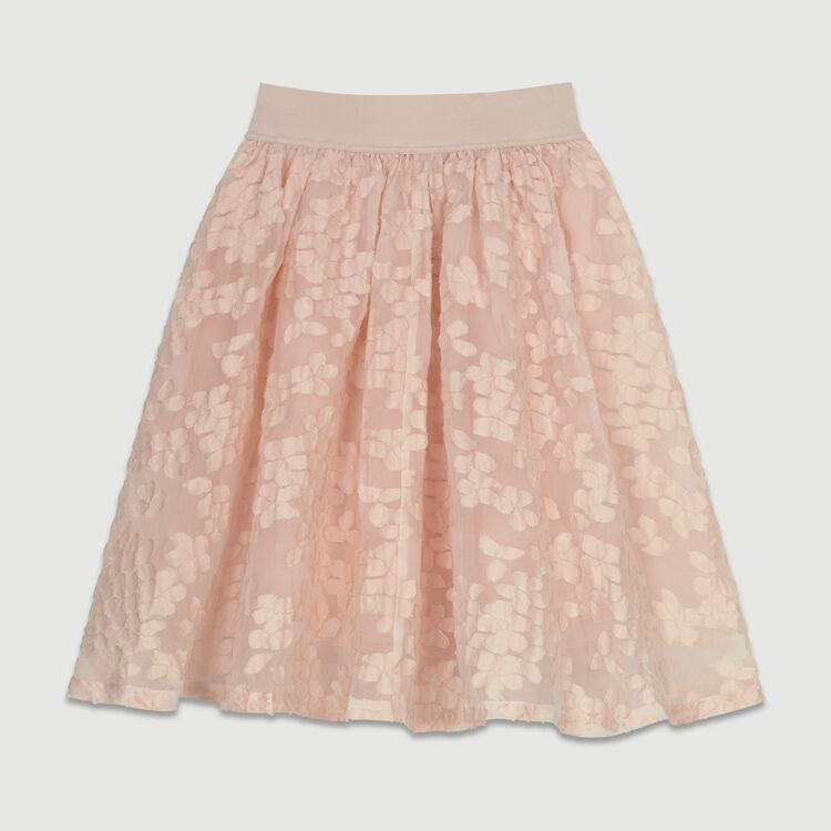 Falda de malla cesto : Ver todo color Rosa