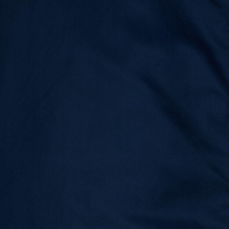 Teddy largo con capucha estilo parka : Abrigos color Azul