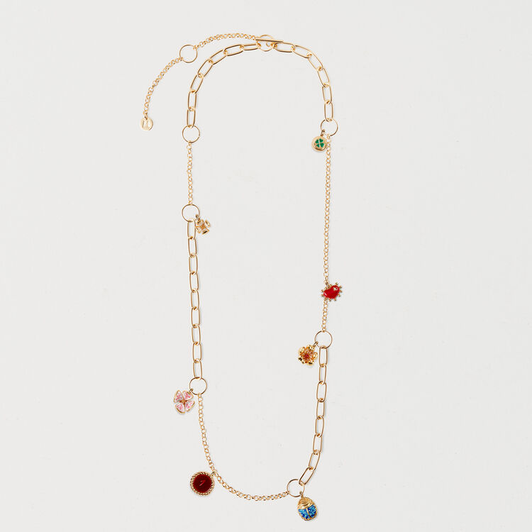 Necklace with mixed links : Bisuteria color OR