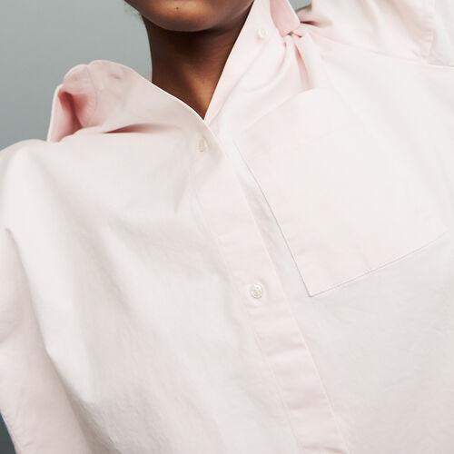 Camisa oversize Denim : staff private sale color Rosa Claro