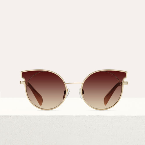 Gafas de sol cat eye : Gafas color Rosa