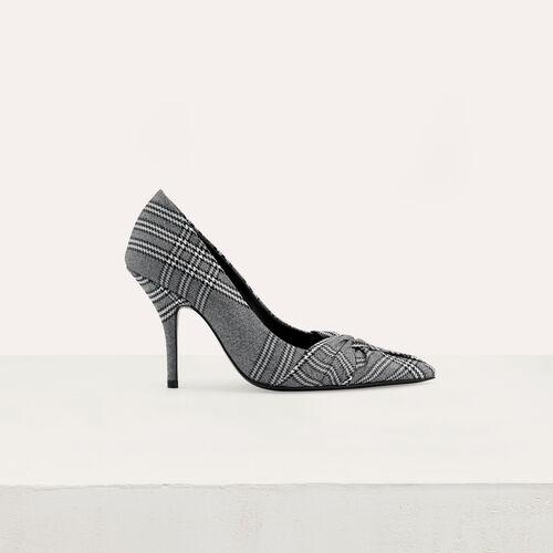 Zapato de salón principe de Galles : Zapatos de tacón color CARREAUX