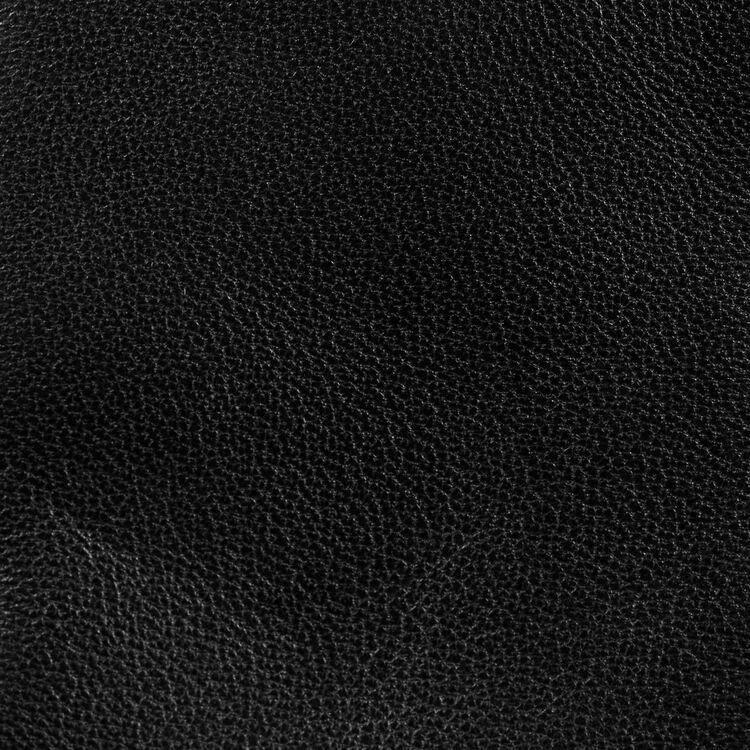 Cesto de cuero con flecos : Totes & M Walk color Negro